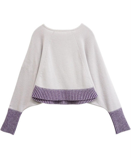 [19AW] CASHMERE MIX WASHABLE KNIT PULLOVER