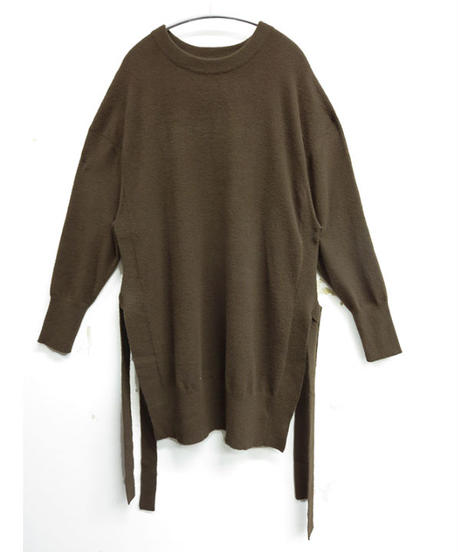 [20AW] SIDE RIBBON KNIT TOPS