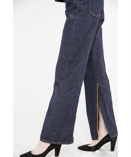 [19AW] PIPING DESIGN DENIM PANTS