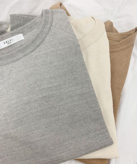 [21AW] ORGANIC COTTON FRENCH SLEEVE TOPS
