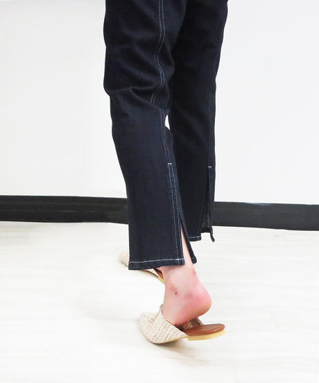 [21SS] STRETCH DENIM CENTERLINE PANTS