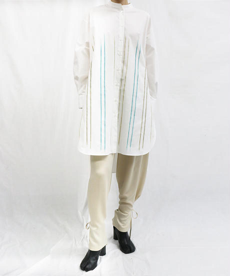 [20AW] PATTERN COTTON LONG TUNIC