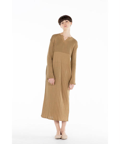 [20SS] UVCUT BAMBOO KNIT ONE-PIECE