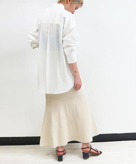 [21SS] OVERSIZED SHEER SHIRT