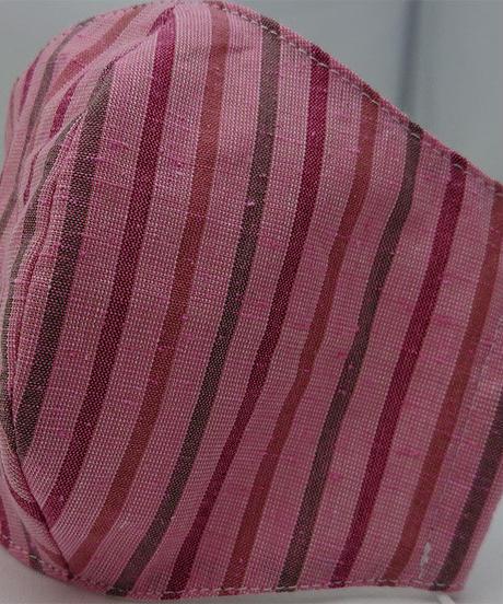 遠州織物ガーゼマスク(縞0128)