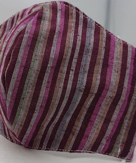 遠州織物ガーゼマスク(縞0121)