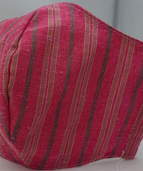!!new!!遠州織物ガーゼマスク(縞0143)<<子供用>>