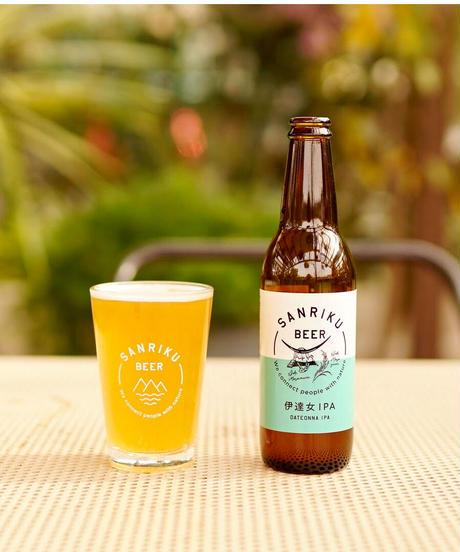 【定番セット】三陸ビール  (4種)+ビアグラスセット