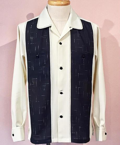 Kasuri 切替 Lounge Shirts【SVY-SH279】