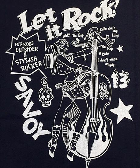 Let It Ladies Tee【SVY-LDT136】