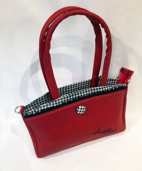 Thaynara 2-tone Gingham Handbag【5592】