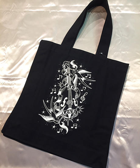 My True Love Canvas Big Tote Bag【SVY-BG047】