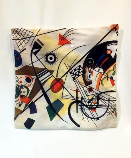 Mid-Century Modern Cushiion Cover(Kandinsky) 【NB-HW007】