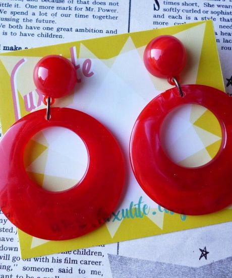 Swirly Hoops Earrings & Pierce【LX-EA03】