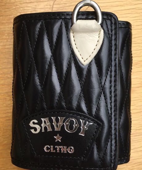 Quilting Short Wallet(三つ折り)【SVY-WLT014】