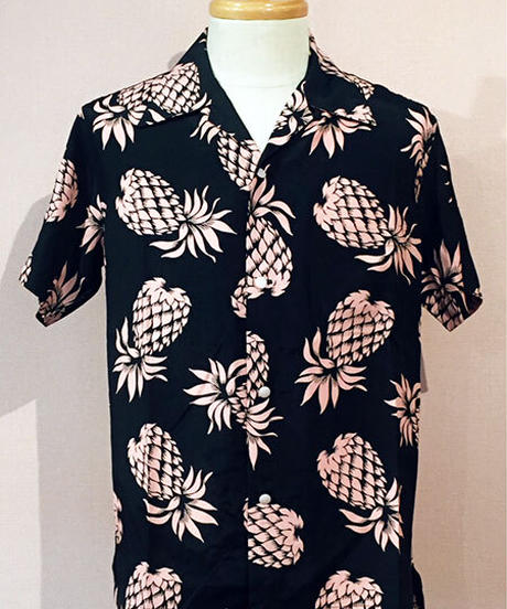 Pineapple Rayon Open Shirts【SVY-SH281】