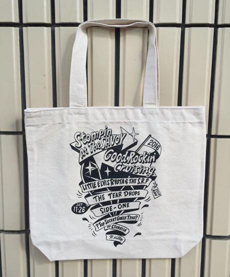 "SAVOY X GOOD ROCKIN 20Th Aniversary ""Monotone Tote Bag""【SGBG-001】"