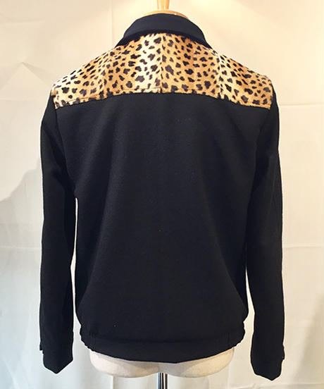 Wool Mossa Cheetah Switch Blouson【SVY-JK124】