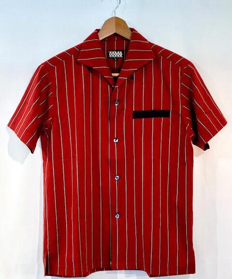 Regimental Stripe S/S Italian Shirts【SVY-SH301】