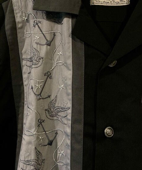 Swallows 'n' Anchors Lounge Shirts【RUM127】