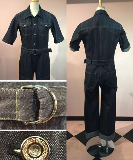 Ladies Denim Mechanic's Suits【SVY-OA010】