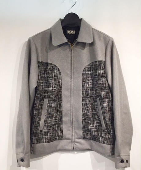 """""""Kuro-Pin"""" Round Switch Lame Sport Jacket【SVY-JK125】"""