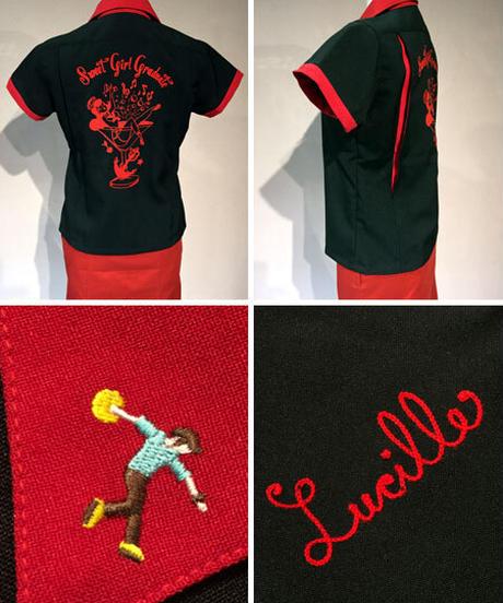 SweetGirl Ladies BowlingShirts【SVY-LSH062】