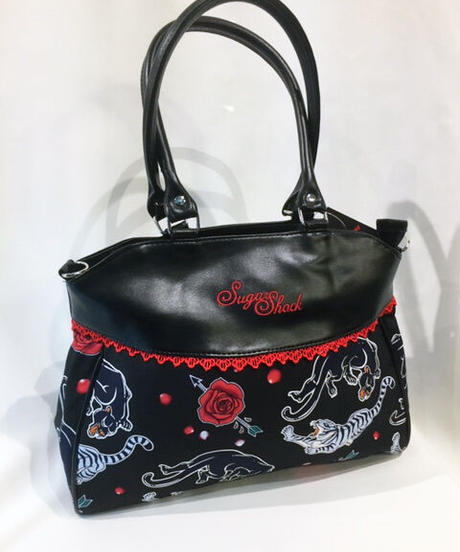 Panther & Roses Handbag【5251】