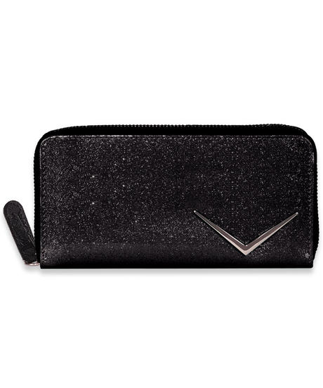 Chevron Glitter Zip Wallet【LB-ABBC-2001/2002/2003/2004】