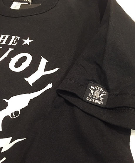 Savoy 20th Logo Binder neckc Tee【SVY-T257】