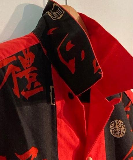 "Skull Button ""Kanji""Shirts【SVY-SH252】"