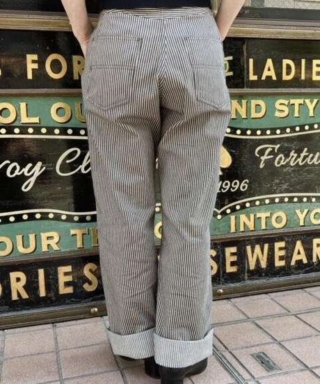 Ladies Brown Hickory Ranch Pants【SVY-LPT021】