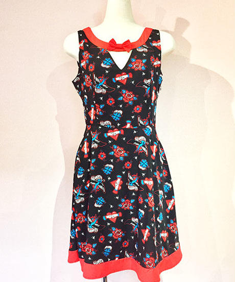 REGRET NOTHING BOW DRESS【DR5212】
