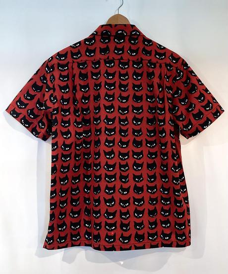 Black Cat S/S Italian Shirts【SVY-SH303】