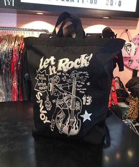 Let It Rock Large Daypack【SVY-BG048】