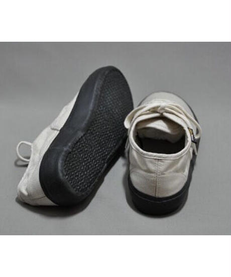 REPRODUCTION OF FOUND / US NAVY MILITARY TRAINER -NATURAL/BLACK SOLE-