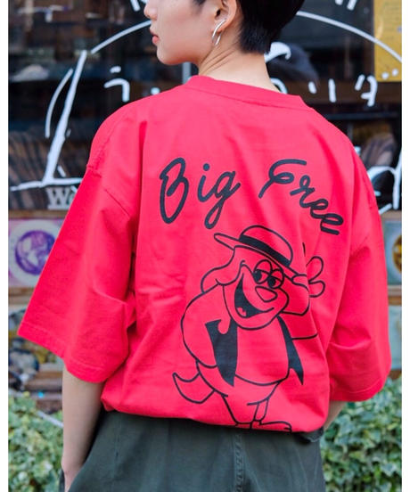 "PUBLIC POSSESSION ""Big Free""T-Shirt"