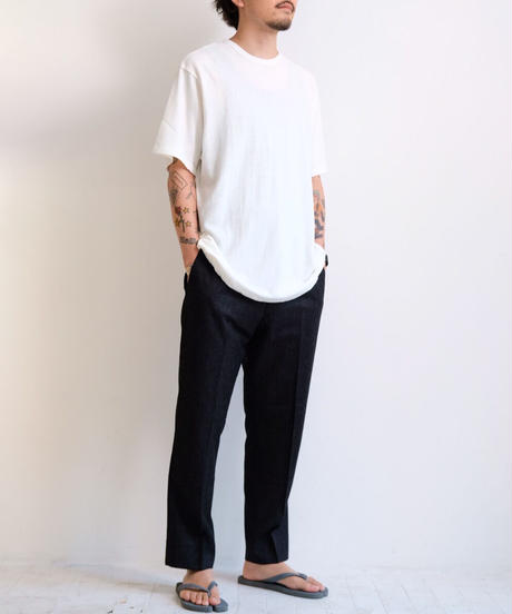 YOKOSAKMAOTO / T-SHIRT-WHITE
