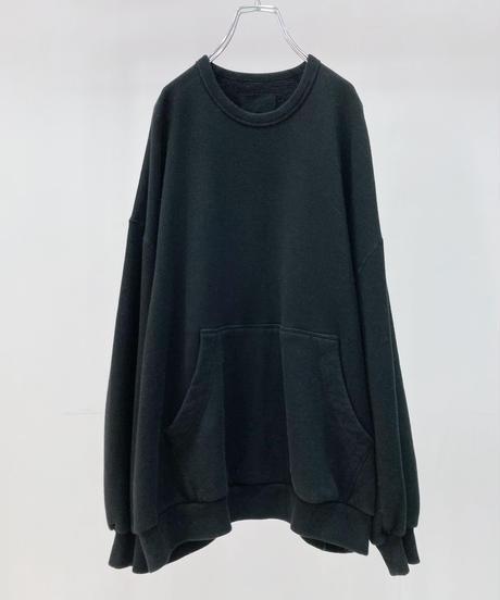 YOKO SAKAMOTO BIG SWEAT (MATERIAL 04) -BLACK-