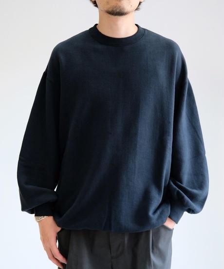 YOKOSAKAMOTO / BIG SWEATER / BLACK
