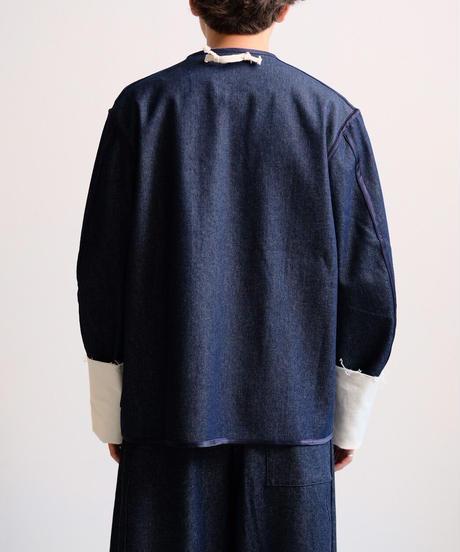 REALTY STUDIO / TONI JACKET  -DENIM BLUE/ OFF WIHTE