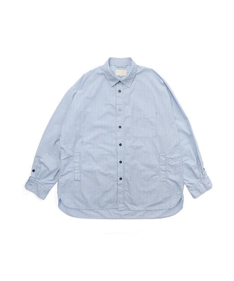 YOKO SAKAMOTO / WORK REGULAR SHIRT -STRIPE-