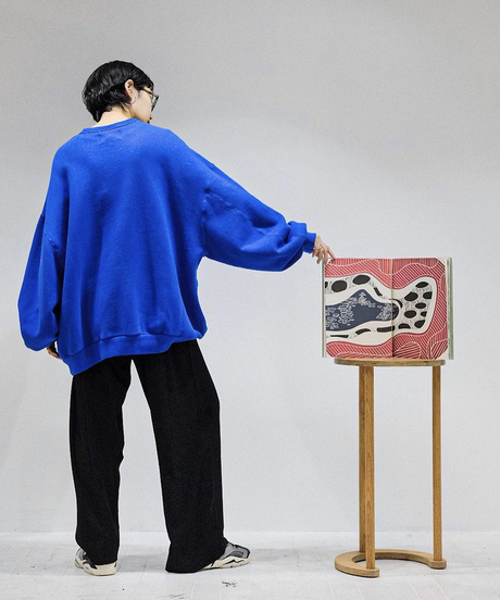 YOKO SAKAMOTO / BIG SWEAT (MATERIAL 04) -YELLOW-