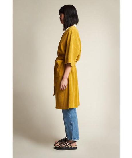KLOKE / ARISE TOWELLING DRESS -GOLD-