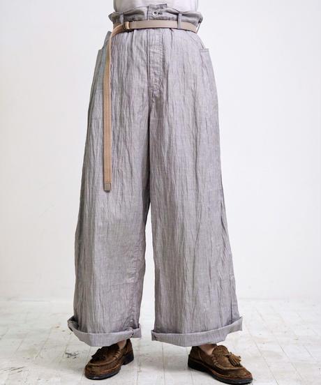 EDWINA HOERL / WIDE PANTS-ELEPHANT LIGHT-