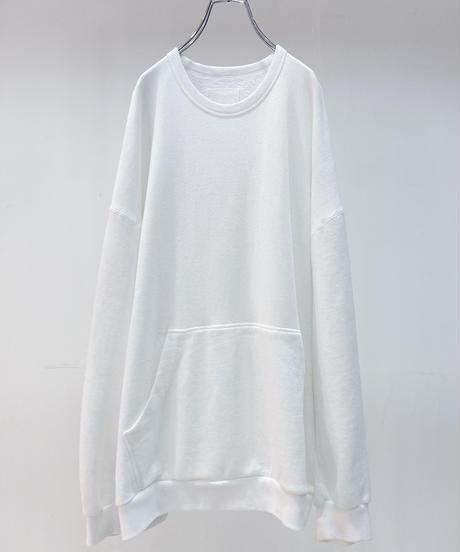 YOKO SAKAMOTO / BIG SWEAT (MATERIAL 04) -WHITE-