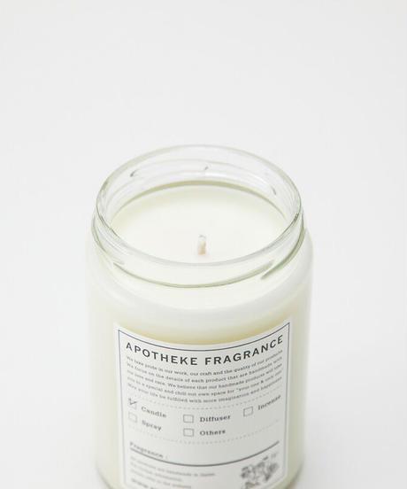 APOTHEKE FRAGRANCE / GLASS JAR CANDLE -PARADISE-