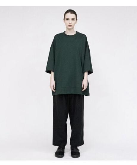 VOAAOV / Seasonless Cotton Jersey BIG TEE -GREEN-