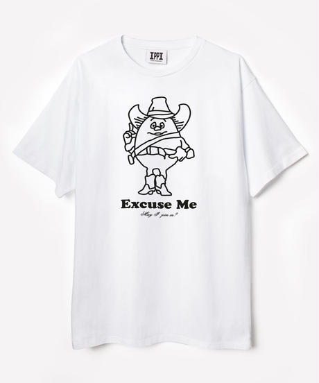 "PUBLIC POSSESSION / ""Eiermann"" T-Shirt/ White"