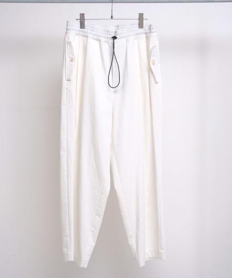 VOAAOV / VINTAGE WASH CHINO CLOTH PANTS -OFF WHITE-